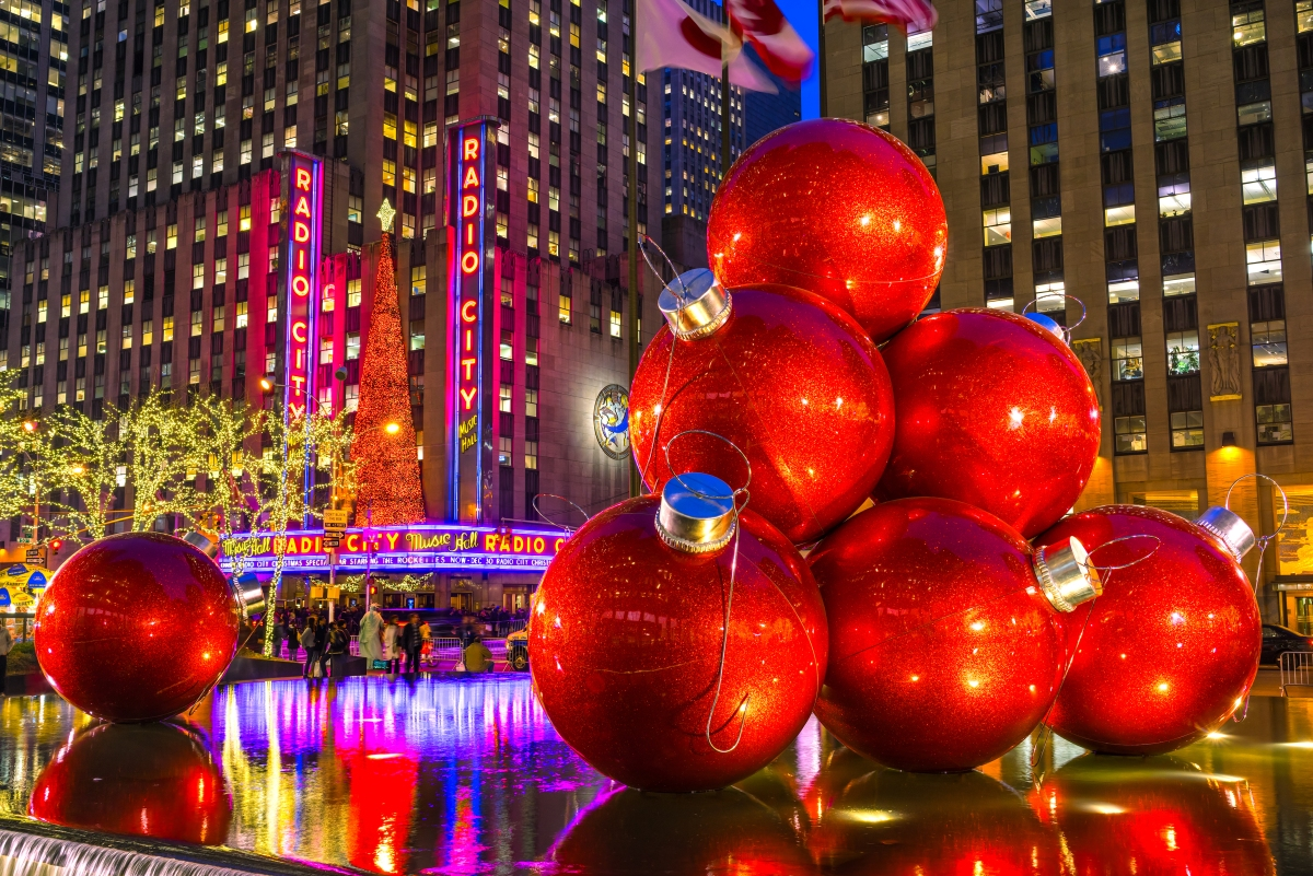 Christmas hotspots in New york City