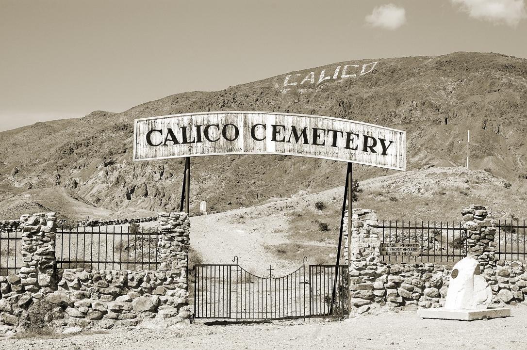 Calico Graveyard