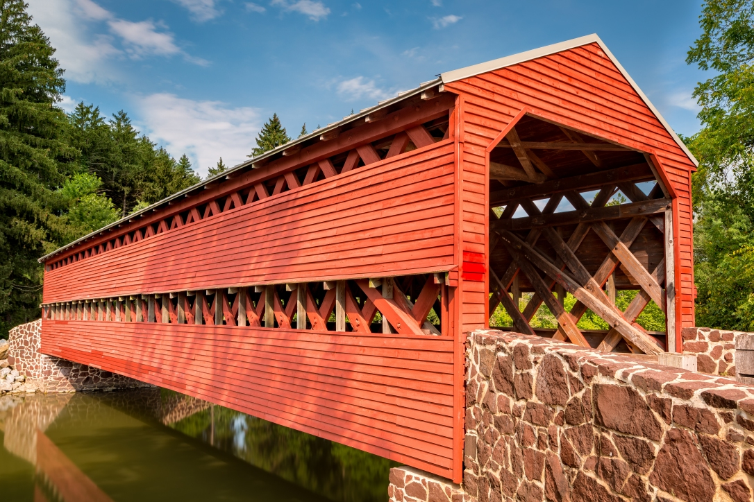 Saschs Covered bridge