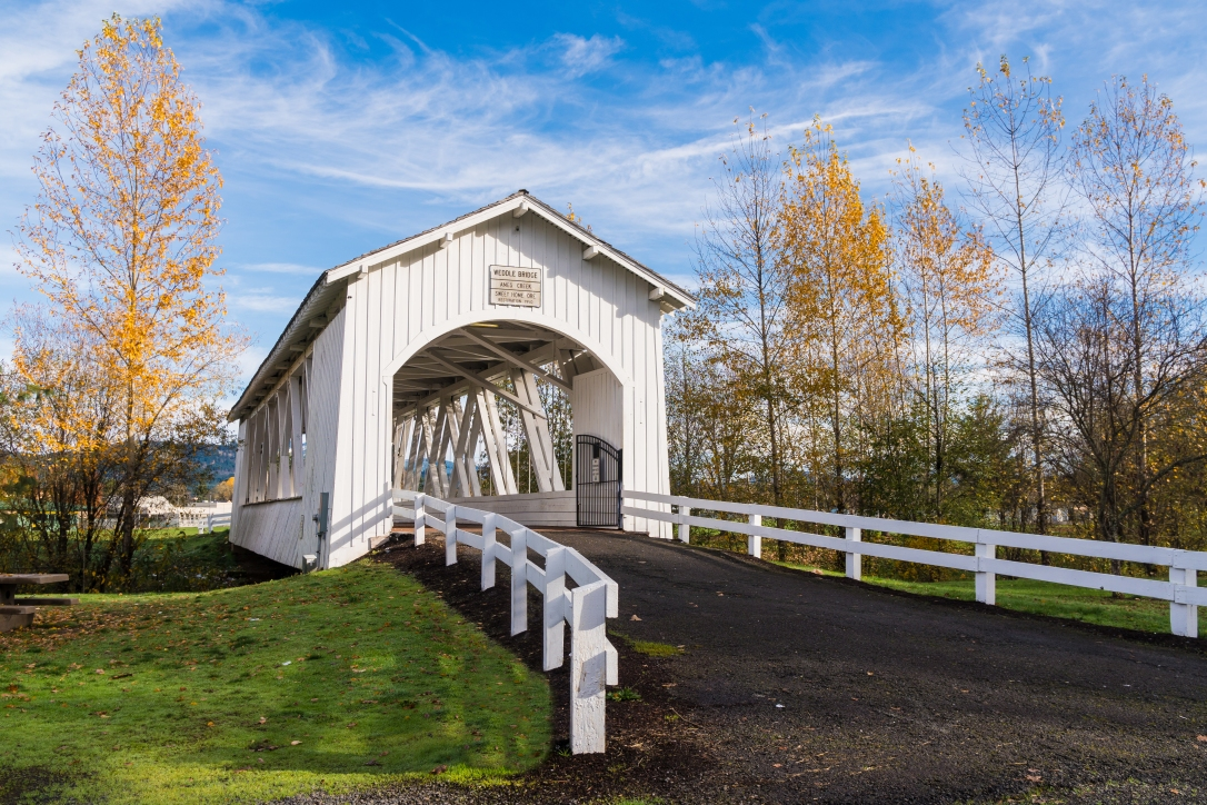 weddle covered bridge
